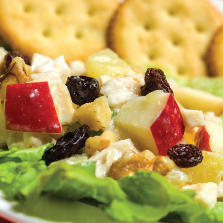 Image of Crunchy Fruit and Chicken Salad