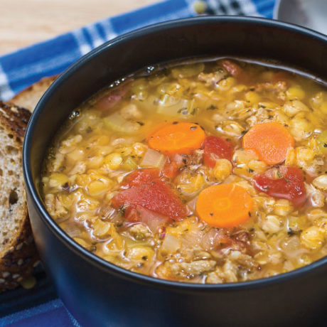 Image of Hearty Lentil and Sausage Soup