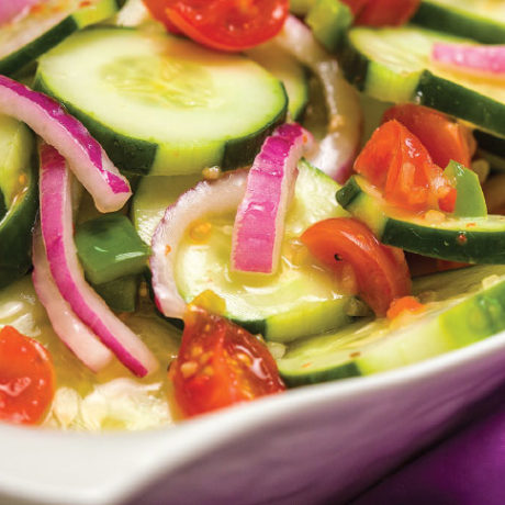 Image of Italian Cucumber Salad