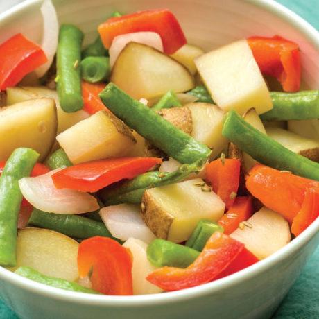 Image of Roasted Veggie Potatoes