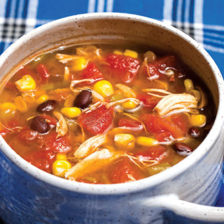 Image of Slow Cooker Chicken Santa Fe Soup