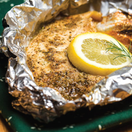 Image of Southern Fish in a Foil