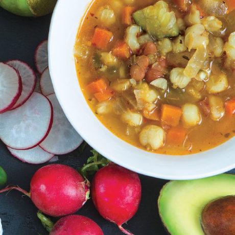 Image of Very Veggie Pozole (Hominy Stew)