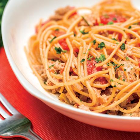 Image of One Pot Cheesy Spaghetti