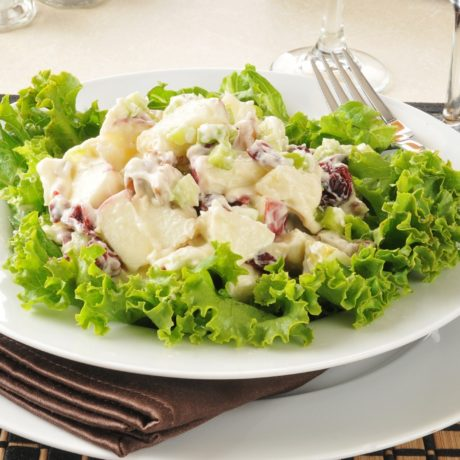 Image of Apple and Chicken Salad