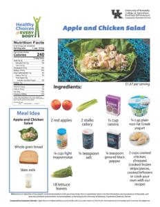 Apple & Chicken Salad